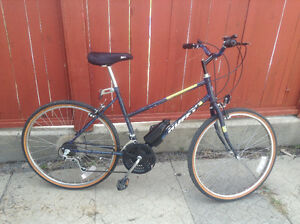 18 speed Huffy women's bike