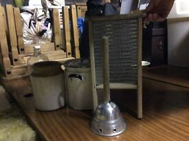 Old vintage kitchen appliances