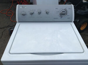 Whirlpool top load washer, delivered with warranty