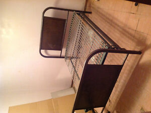 Antique bed frame with springs Edmonton Edmonton Area image 2