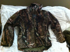 Softshell 2 Piece Camo Suit (Pants and Jacket)