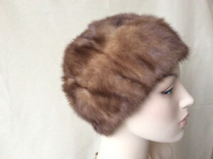 Women Real Genuine Fur Hat Soft Warm Vittorio Creation Accessory