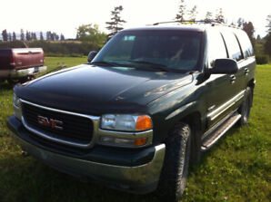 Awesome Low Km 2001 Yukon - SOLD
