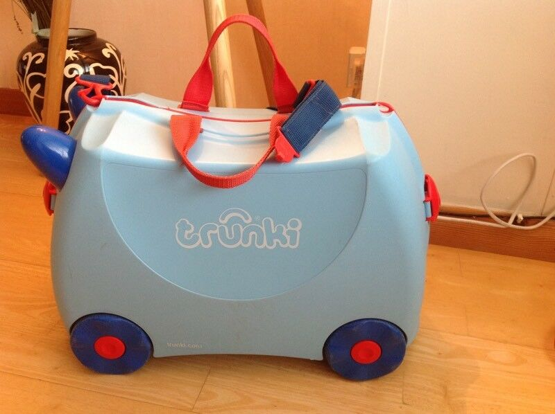 Trunki ride on suitcase