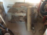 Wood lathe and jointer
