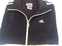 Men's navy adidas jacket size 38/40 (M/L)