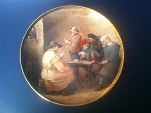 "CollectablePlates:""A Game of Cards""(LordNelsonPottery)Friendship"
