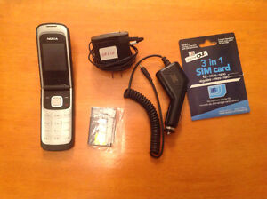Complete set, phone, battery, rechargers