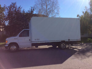 FORD F 450 16 FEET CUBE VAN FOR SALE BY OWNER