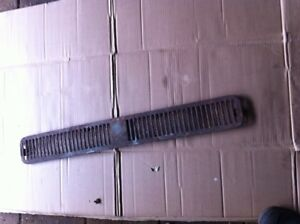 vw bus front grill for 1968-79 bus good condition patina