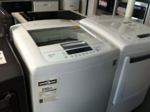 LG TOP LOAD H.E WASHER 5.3 CUBIC FOOT BRAND NEW 500 WITH WARR !!