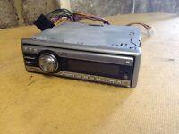 Jvc car radio/ CD player