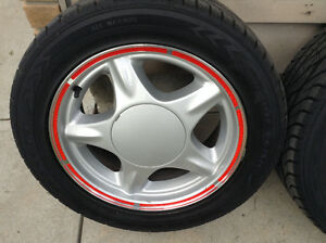 Fox Body Pony Rims with Good Year Eagle GT tires Regina Regina Area image 2