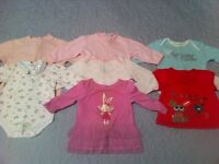 Girls 3-6 month clothes lot 40+ pieces