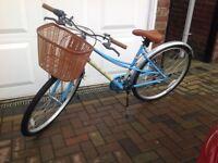 Lady's classic retro bike