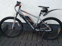 Carerra Vulcan electric mountain bike