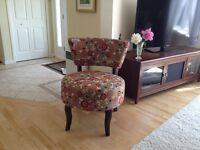 Magnifique fauteuil décoratif d'appoint