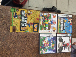 Nintendo Ds/3ds super Mario collection games