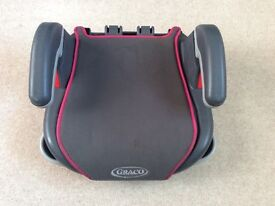 Graco Car Booster Seat Pink/Grey