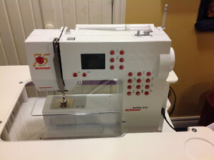 Bernina -Activa 210 Sewing Machine with portable table