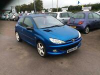 Peugeot 206 2.0 16v ( dig a/c & climate control ) 2004MY GTi 180