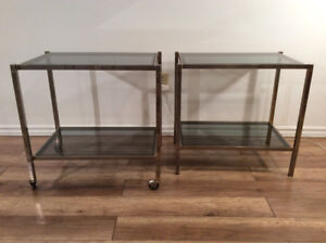 Vintage Tables d appoint-Vintage Tables 1970