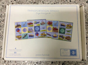 Travel Bingo Game by Pottery Barn Kids