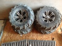 27 inch Mud Lite XTR or 12 inch ITP SS212 rims