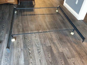Queen size bed rails.