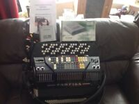 Farfisa Button Accordion
