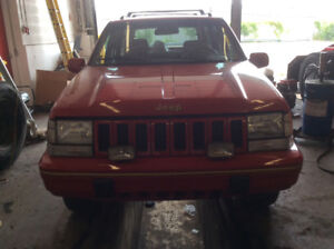 Jeep Grand Cherokee 1995 limited