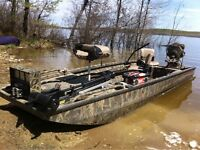 Mud Buddy / 1851 Excel F4 Shallow Water Boat