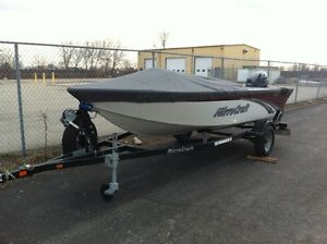 2014 Mirrorcraft 1615 Outfitter / 25 HP Yamaha London Ontario image 2
