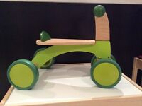 HAPE Wooden Ride Around Scooter Trike from 12 months