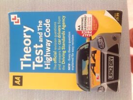 Driving test books - theory and practical. £5 the pair