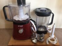 Food processor and blender - £35