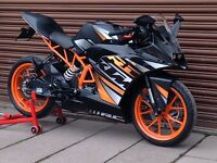 KTM RC 125 2015 ABS. Only 3210miles. Nationwide Delivery Available *Credit & Debit Cards Accepted*