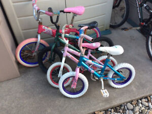 GREAT SELECTION OF KIDS ADULTS USED BIKES