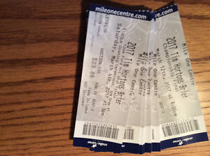 FULL PACKAGE TICKET FOR THE BRIER