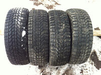 FIRESTONE WINTERFORCE  P205/65R15  WINTER TIRES SET