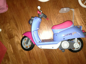 "Scooter for 18"" dolls for sale"