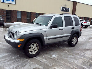 2006 JEEP LIBERTY 4X4 - TURBO DIESEL CRD - 146000KMS CERTIFIES!
