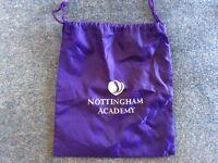 Brand new unused Nottingham Academy gym bag FREE