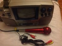Karaoke singing machine with built in camera karaokevision SMVG-600 with microphone