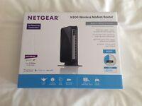 Netgear N300 wifi modem router DGN2200
