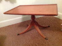1940s vintage coffee table