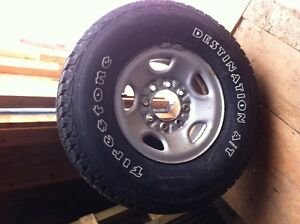 chevy 8 bolt rims and tires