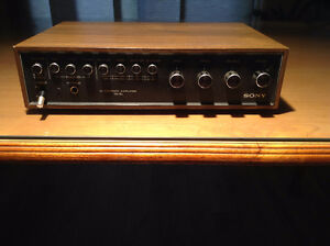 Vintage Sony Integrated Amplifier TA-70
