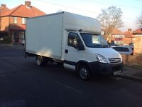 Iveco daily 35S14 LWB Luton van with tail lift 2008 no vat