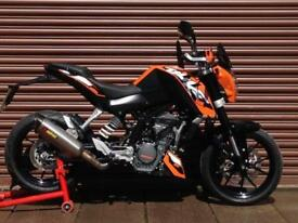 KTM Duke 125 ABS Only 5206miles. Nationwide Delivery Available